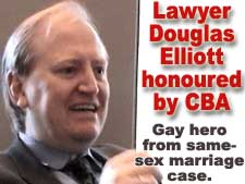 Hero from gay marriage case wins award from Canadian Bar Association