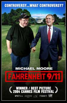 External link to Michael Moore and Fahrenheit 9/11