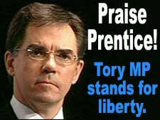 Praise Prentice! Tory MP stands for liberty and gay marriage