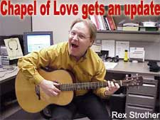 "Rex Strother has given ""Chapel of Love"" an update in support of same-sex marriage"