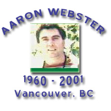 Link to Aaron Webster letters